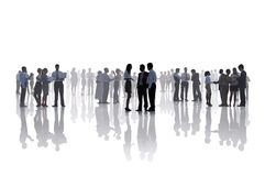 Business People Corporate White Collar Worker Communication Conc Stock Images
