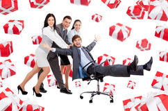 Business people creative design Stock Photos