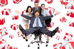 Business people creative design Royalty Free Stock Photos