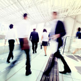 Business People Crowd Rush Hour Pedestrian Concept Stock Images