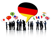 Business People Discussing Different Countries Royalty Free Stock Images