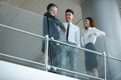 Business people discussing documents and ideas. Business Team Royalty Free Stock Photo