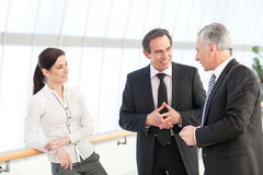 Business people discussing Stock Image