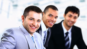 Business people discussing Royalty Free Stock Image