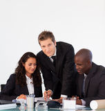 Business people discussing in an office Stock Image