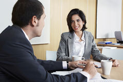Business People Discussing In Office Royalty Free Stock Photos