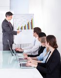 Business people discussing project Royalty Free Stock Images