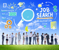 Business People Discussion Aspiration Job Search Concept stock photos
