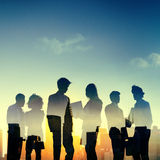Business People Discussion Communication Meeting Concept.  Royalty Free Stock Photos