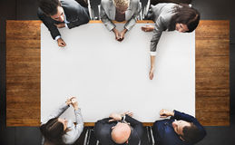 Business People Diverse Brainstorm Meeting Concept.  Royalty Free Stock Photography