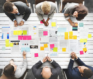 Business People Diverse Brainstorm Meeting Concept Stock Photography