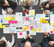 Business People Diverse Brainstorm Meeting Concept.  Stock Images