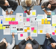 Business People Diverse Brainstorm Meeting Concept Royalty Free Stock Images