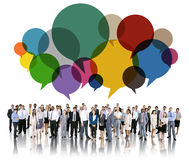 Business People Diverse Standing Communication Concept Royalty Free Stock Photo
