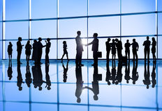 Business People Doing Different Activity.  Stock Images