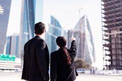 Business People In Dubai Stock Image