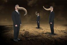Business People, Elephant Nose, Strange Stock Images
