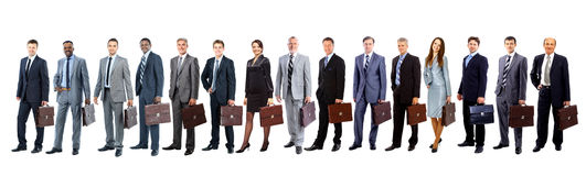 Business people - the elite business team Royalty Free Stock Photography