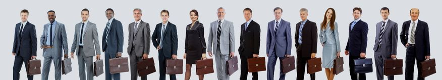 Business people - the elite business team Royalty Free Stock Photo