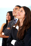 Business people - expectations Stock Photo