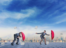 Business people fighting Stock Photos