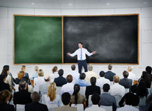 Business People Global Seminar Conference Meeting Concept stock photos