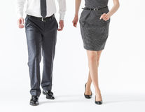 Business people going forth Royalty Free Stock Photos