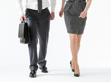 Business people going forth Royalty Free Stock Images