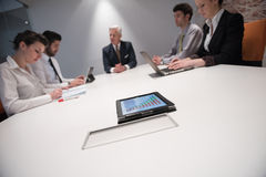 Business people group brainstorming on meeting Stock Images