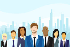 Business People Group Diverse Team Vector Stock Photos