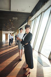 Business people group, females as team leaders Royalty Free Stock Photo