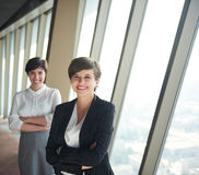 Business people group, females as team leaders Stock Photos