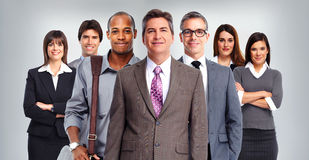 Business people group. royalty free stock photography