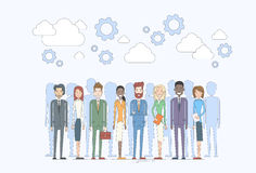 Business People Group Human Resources Team Diverse. Concept Vector Illustration Royalty Free Stock Image