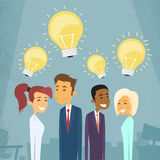 Business People Group Idea Concept Light Bulb Stock Image