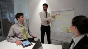 Business people group on meeting at modern startup office,