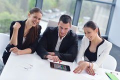 Business people group in a meeting at office Stock Photo