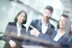 Business people group meeting Royalty Free Stock Photos
