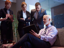 Business people group on meeting Royalty Free Stock Images