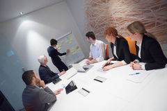 Business people group on meeting Royalty Free Stock Photos