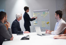 Business people group on meeting Royalty Free Stock Image
