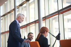Business people group on meeting Stock Images