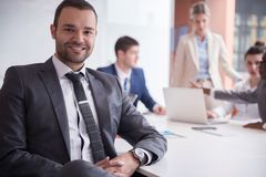 Business people group at office Royalty Free Stock Image