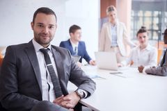 Business people group at office Stock Photography
