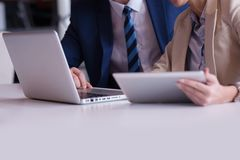 Business people group at office Stock Photos