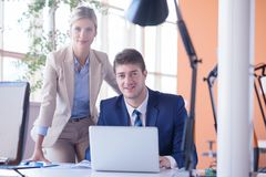 Business people group at office Royalty Free Stock Photo