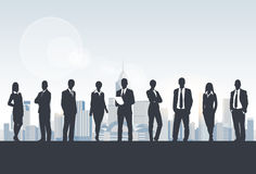 Business People Group Silhouette, Businesspeople Stock Images