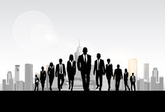 Business People Group Silhouette, Businesspeople Royalty Free Stock Images