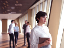 Business people group standing together Stock Photography