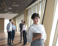Business people group standing together Stock Photos